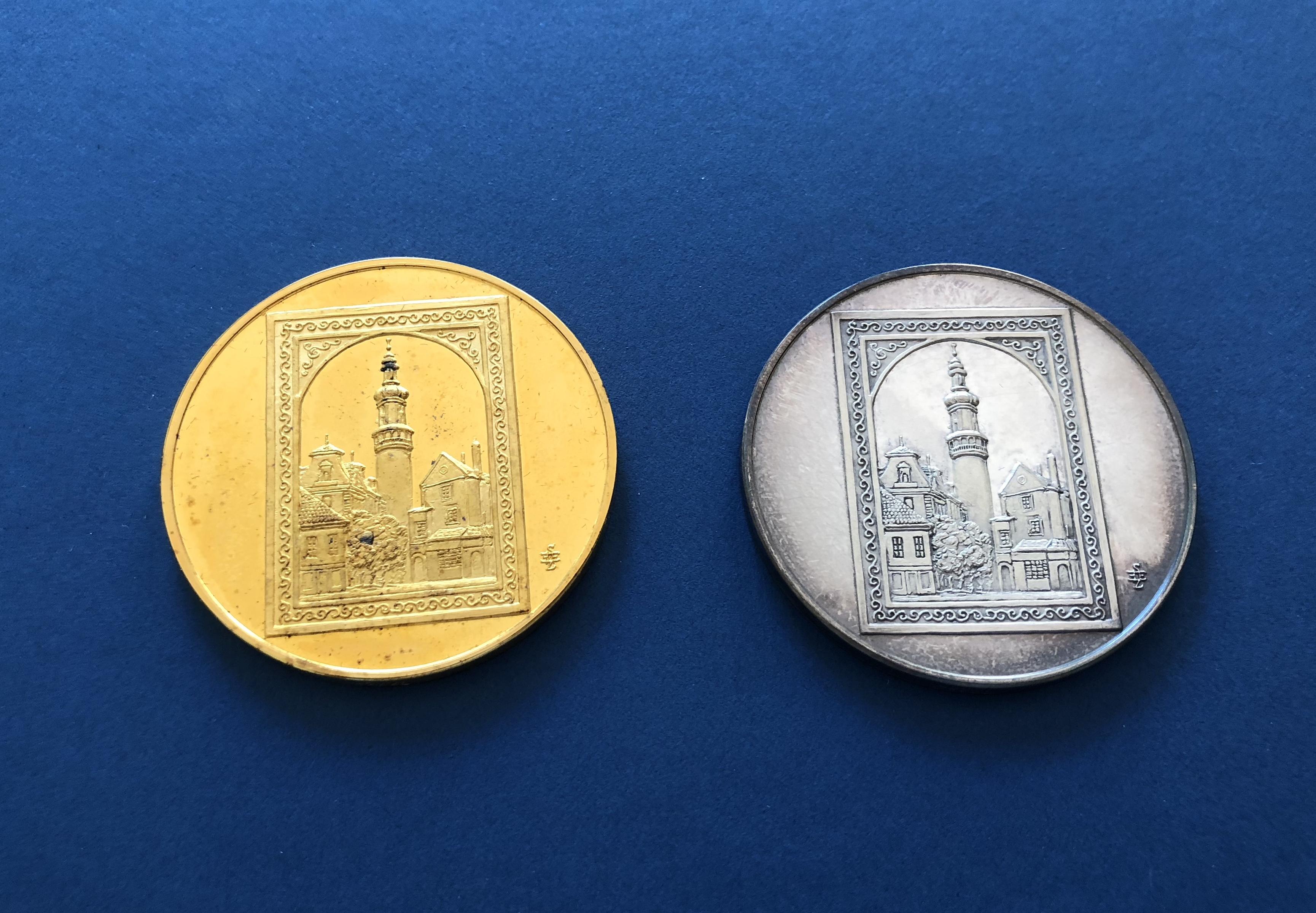 Medaille Andenken für Künstler